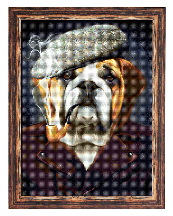 Diamond painting Bulldog